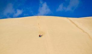 Sand board Stockton Beach Newcastle