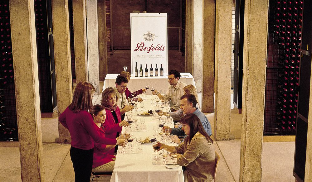 Tour the Penfolds vinyards, and then make your own legendary bottle of wine to take home.