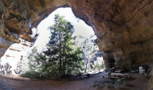 Rent your own cave in Wollemi National Park
