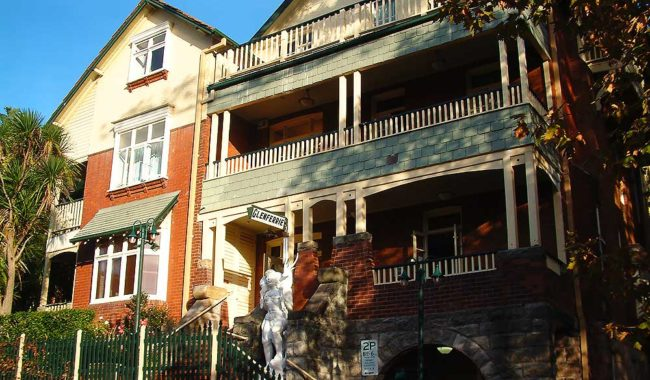 Glenferrie Lodge, Kirribilli.