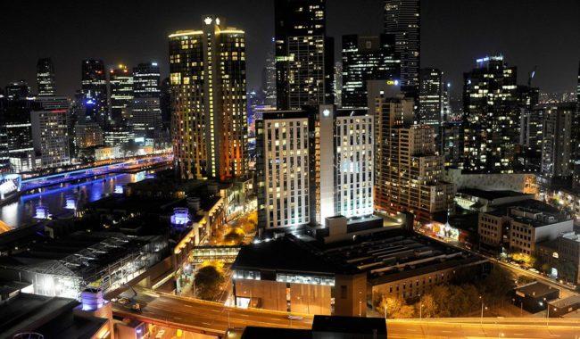 Crown Metropol By Night