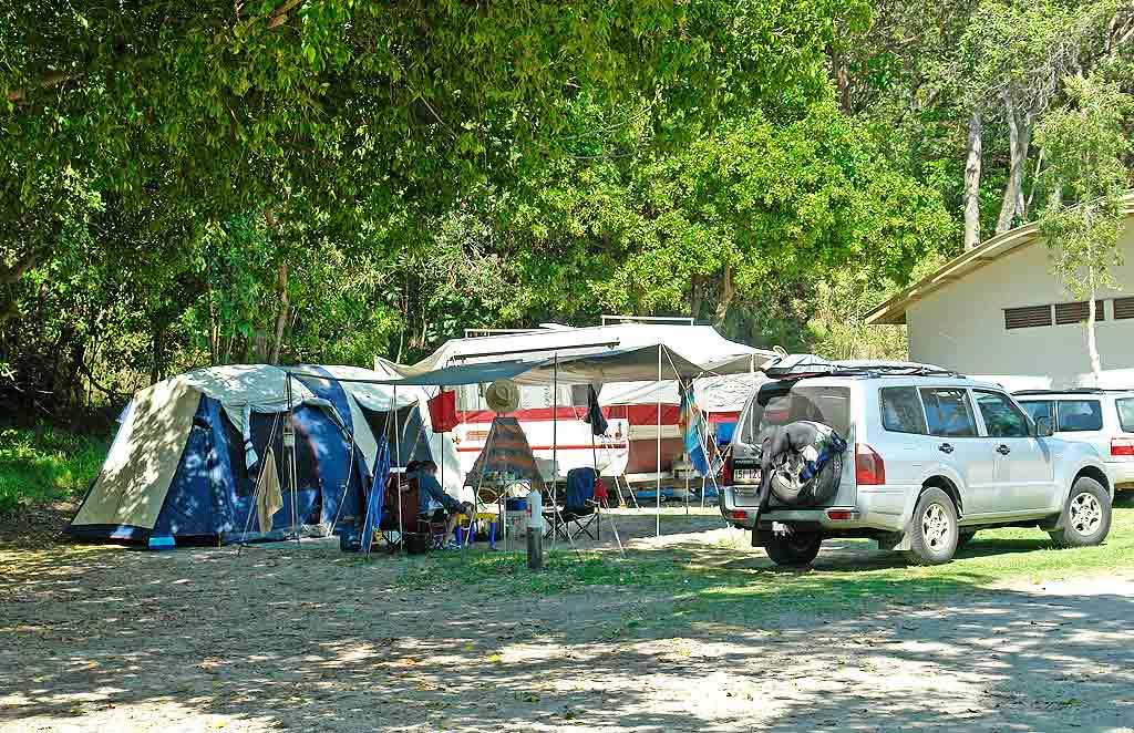 Home Beach Camping Stradbroke Island