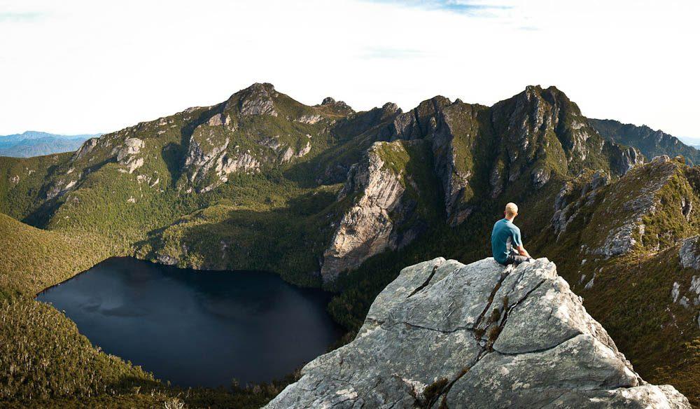 028. Lake Oberon- Image By  Tourism Tasmania and Glen Turvey