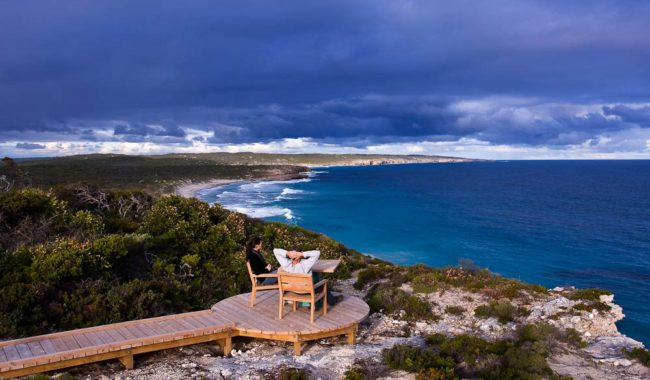 """The view over Hanson Bay from the clifftop boardwalk is, quite simply, cinematic."" - Louise Lanyon"