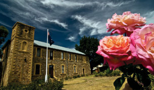 The gorgeous Hahndorf Academy was once a school now transformed into an arts centre. that is  Image by Dirk Spenneman.