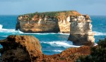 Great Ocean Road from near Port Campbell.
