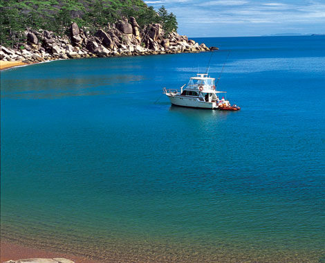 Pretty Alma Bay is just one of 20 on Magnetic Island. Image by Tourism Qld