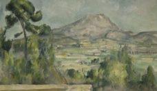 Paul Cezanne Mount Saint-Victoire c 1890 Musee d'Orsay, Paris © RMN (Musée d'Orsay) / Hervé Lewandowski