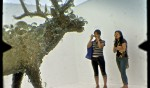 """PixCell Elk#2 by Kohei Nawa is """"totally awesome""""."""
