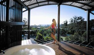 The villas at Fraser Island's Kingfisher bay can be affordable