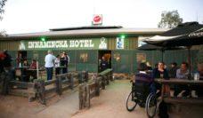 Innamincka Hotel, Strzelecki Track, far north South Australia, overlooking Cooper Creek.