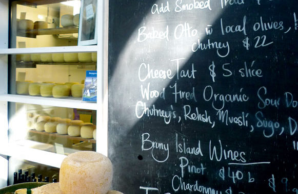 Bruny Island Cheese Co's wares