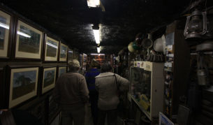 Wandering through Bushy's Mine Museum and Art Gallery. Image by Craig Roberts