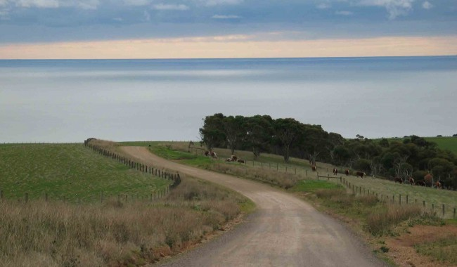 Myponga-Beach-road