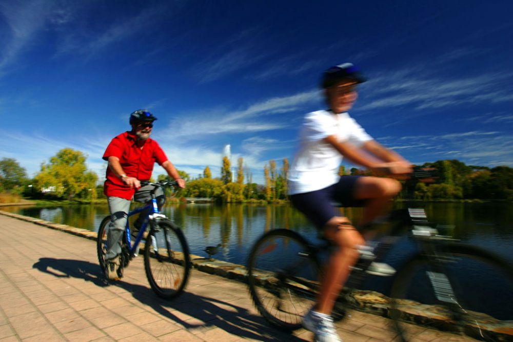Ride a Bike Australian Capital Tourism gallery