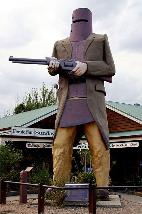 Do you consider Ned Kelly an Australian heroe?
