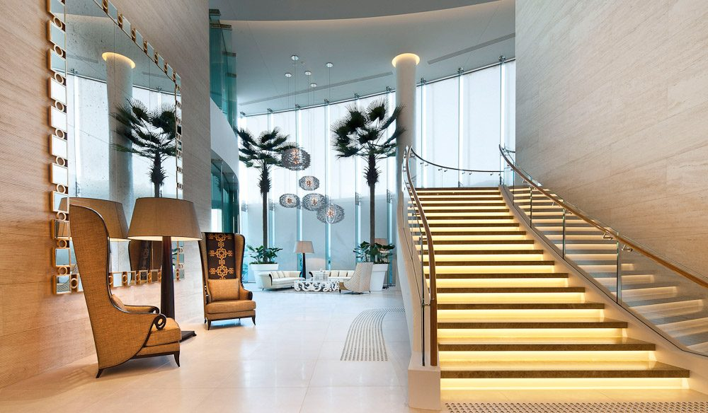 The grand lobby at new Sea Temple Surfers Paradise