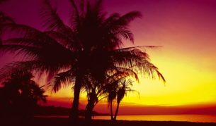 Darwin's Mindil Beach on sunset