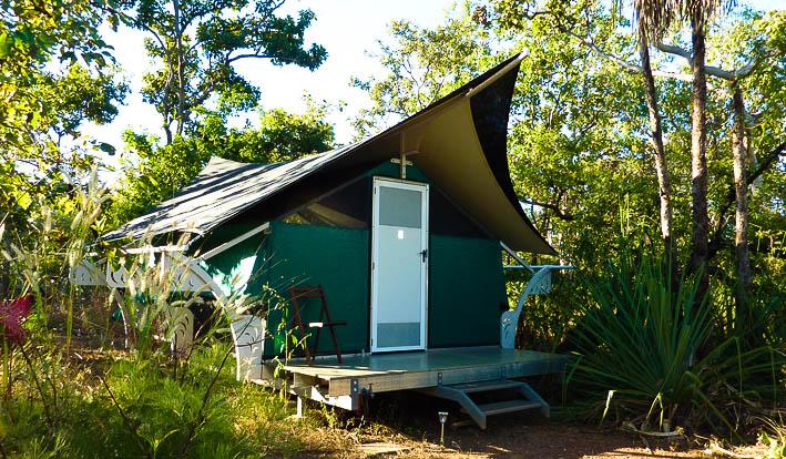 Hawk Dreaming, dry-season accommodation in Kakadu National Park, NT