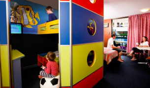 A junior bunkhouse, Paradise Resort, Gold Coast.