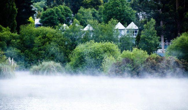 Misty Lake, Daylesford.