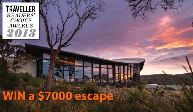 Readers' Choice 2013: Win a $7000 escape to Saffire Freycinet.
