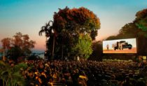 The great outdoors meets cinematic drama at Darwin's Deckchair Cinema.