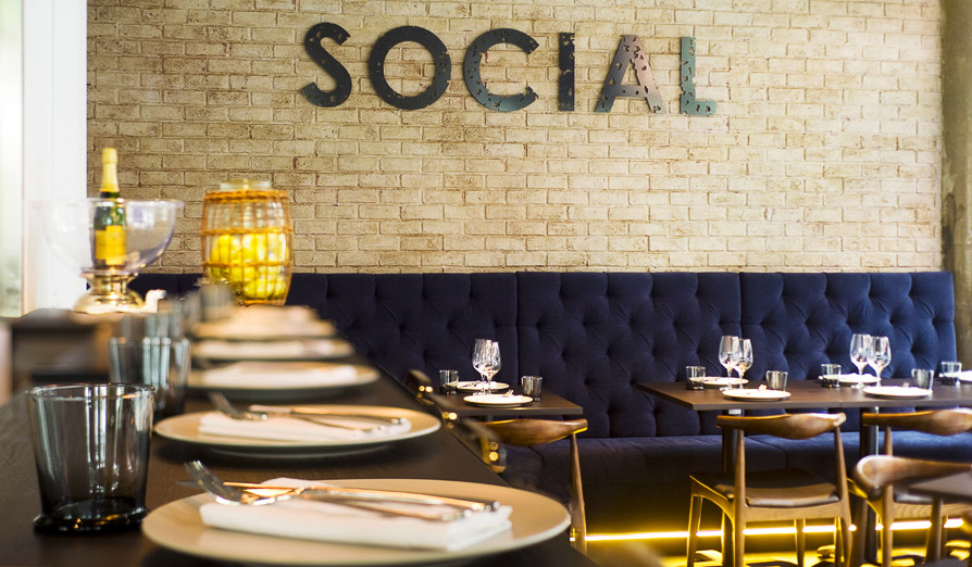 Social Eating House and Bar, Broadbeach - just one of many funky dining options on the Coast.