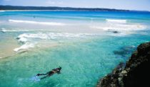 Snorkeling the azure far south coast gem Tathra.