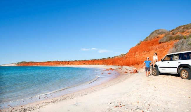 Cape Peron, Shark Bay World Heritage Area.