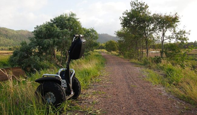 A gentle roll around Townsville Common Conservation Park for some Segway bird watching perhaps?