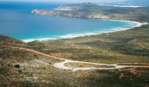 Mylies Beach, from East Mount Barren (photo: Tourism Western Australia).