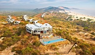 High up in the Kimberley and high end: Berkeley River Lodge,WA.