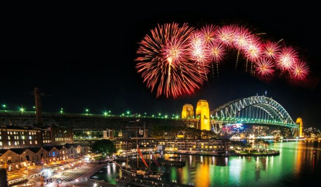 Sydney Harbour: One of the first and perhaps the best New Year's celebration in the world.
