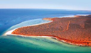 The World Heritage-listed Shark Bay, WA.