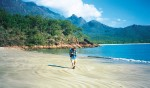 Thorsborne Trail on Hinchinbrook Island - only 40 walkers on the track at any time.