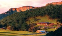 Blue Mountains tranquility: Emirates Wolgan Valley.