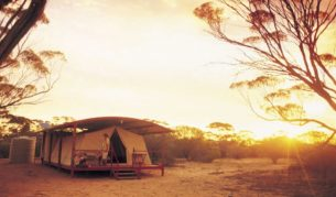 Kangaluna Camp, Eyre Peninsula (photo: Adam Bruzzone).