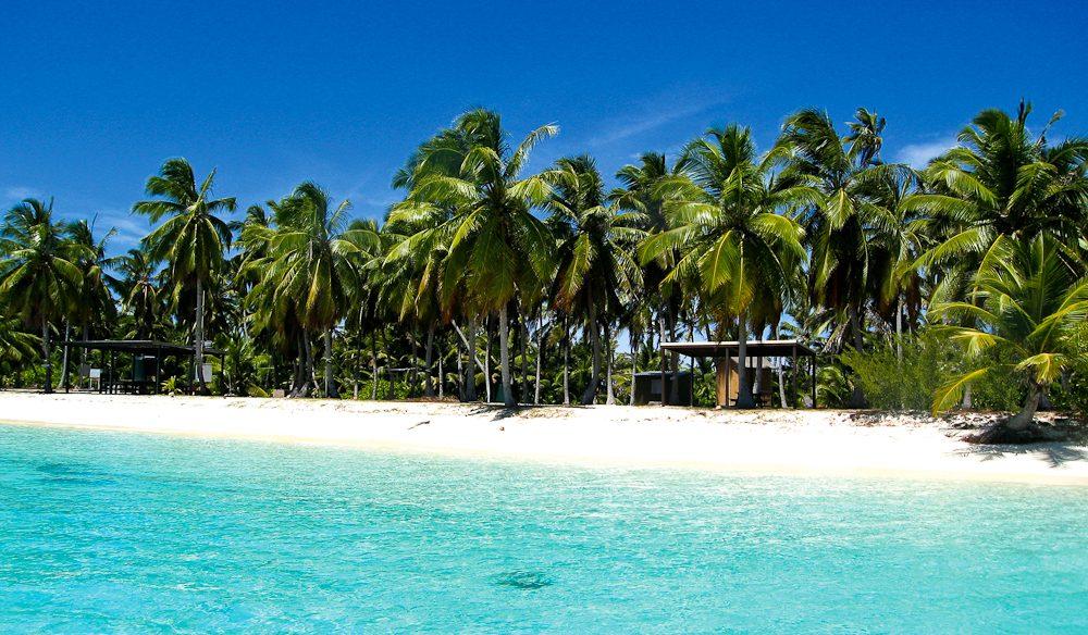 The Cocos (Keeling) Islands.