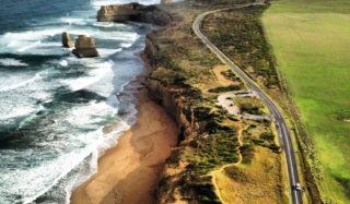 The Great Ocean Road despite its popularity, it still feel relatively untouched.