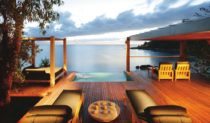 In at number 5 on the luxury lodge list... Bedarra Island, QLD - secluded, exclusive.