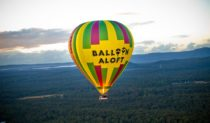 You and a friend/acquaintance/lover can fly away aboard a hot air balloon - on us!