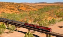 Ghan-view: ever changing and diverse.
