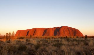 Uluru, also known as Ayers Rock, in central australia. Uluru Kata-Juta National Park