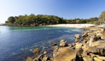 Shelly Beach near Manly Beach Sydney.