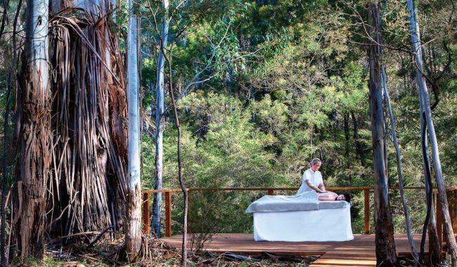 Bush Spa: Wolgan Valley Resort, Blue Mountains