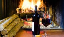 The antidote to Melbourne's winter: A glass or two of heart starter and a cracking fire.