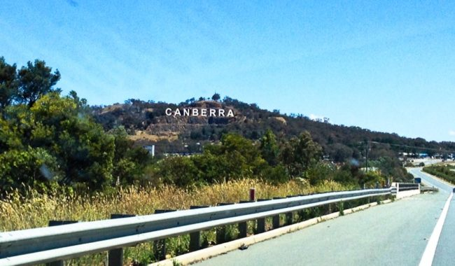 A capital idea? A Hollywood-style sign for Canberra could be on the way