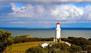 Stay at the light: Cape Schanck Lighthouse, Mornington Peninsula.