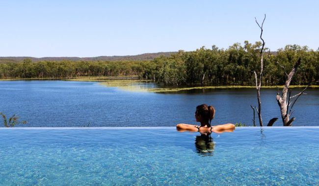 Could be you: infinity view, Crystalbrook Lodge, outback Queensland.